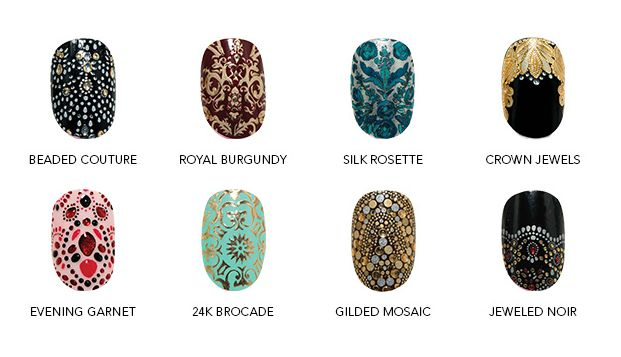 Revlon by Marchesa 3D Jewel Nail Appliqués | Beauty On the Go - love this