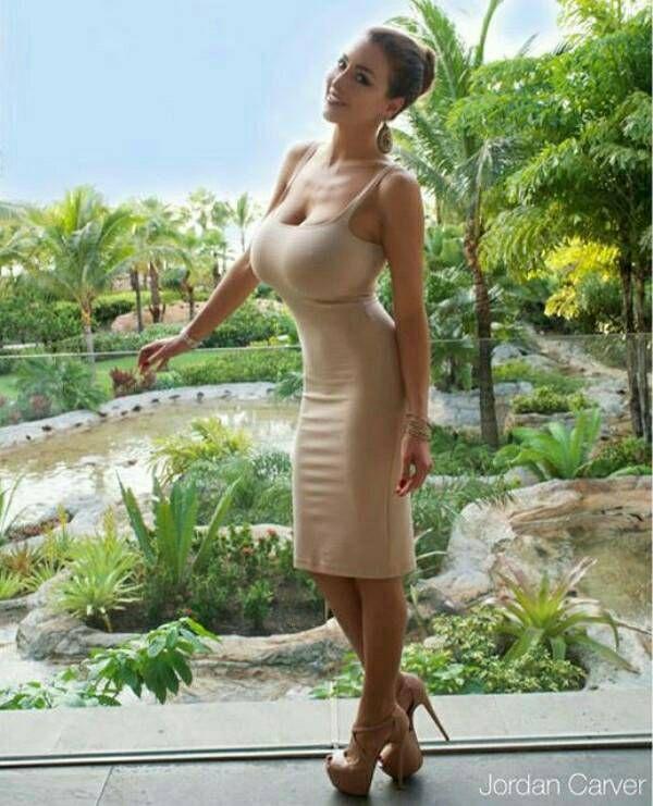 Huge tiny boobs woman