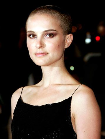 Now that I'm thinking about women with shaved heads I had to post 2 that always stood out to me, Natalie Portman & Demi Moore