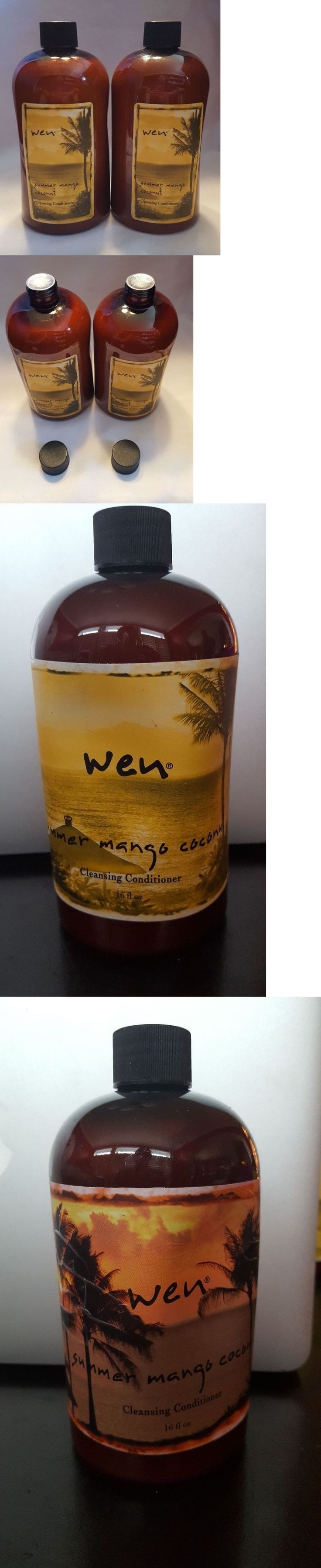 Shampoos and Conditioners: Wen Summer Mango Coconut Cleansing Conditioner Lot Of 2~16 Oz~ New And Sealed -> BUY IT NOW ONLY: $49.99 on eBay!