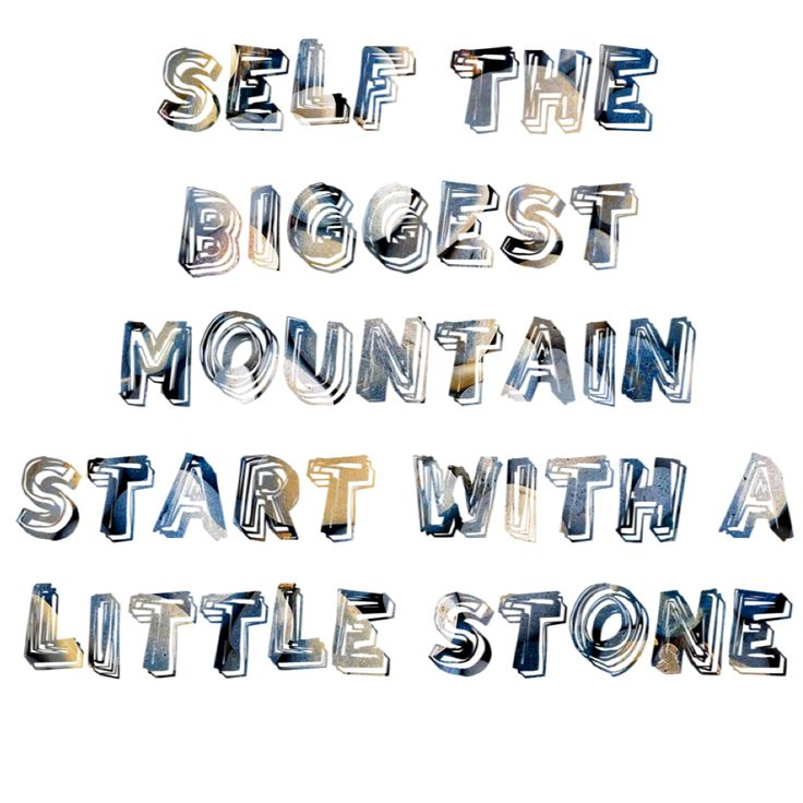 Yes self the biggest mountain