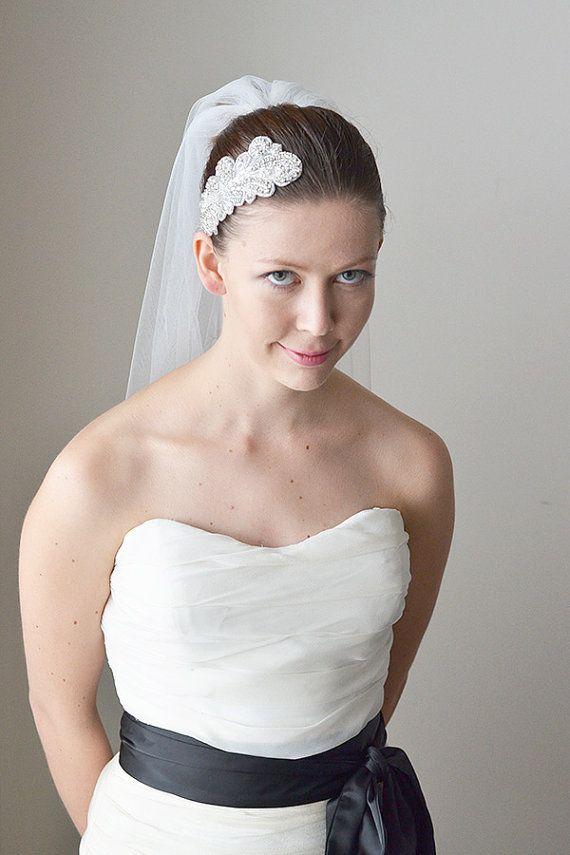 One Tier Light Ivory Wedding Veil Sydney Based 5024 Free Shipping