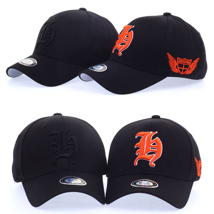 Mens Womens Unisex Houston H Logo Flexfit Baseball Cap Stretch Fit Trucker Hats #hellobincom #BaseballCapHats