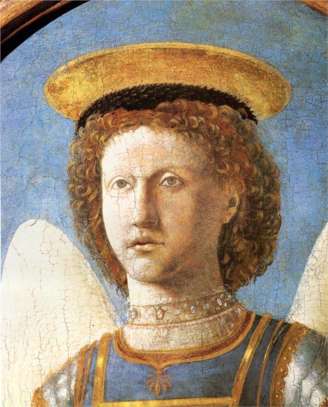 Piero della Francesca, St. Michael, c. mid-15th century