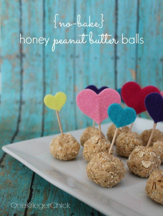 No Bake Honey Peanut Butter Balls- Delicious for Breakfast, Dessert and anytime in between! Only 4 ingredients and they are healthy too! OneKriegerChick.com