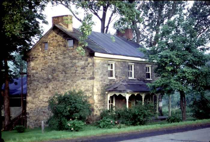 Stone house in PA.