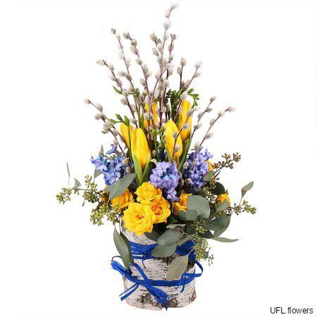 Bouquet «Spring Watercolors»