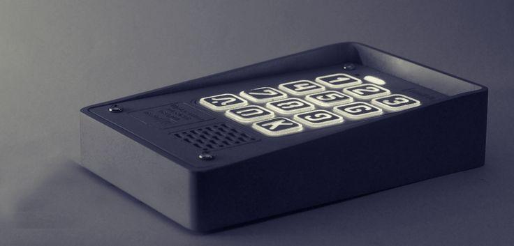Kompaktowy, #cyfrowy #domofon wielorodzinny - wykonany z najlepszej jakości materiałów, trwały i bezawaryjny
