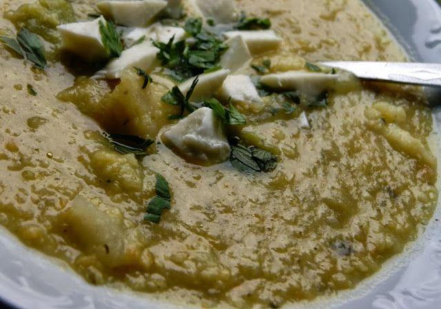 Zupa z warzyw z kaszą jaglaną