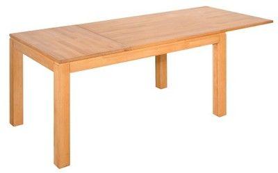 Stół Rozkładany Bukowy Lite Drewno 90 x 140-200 cm
