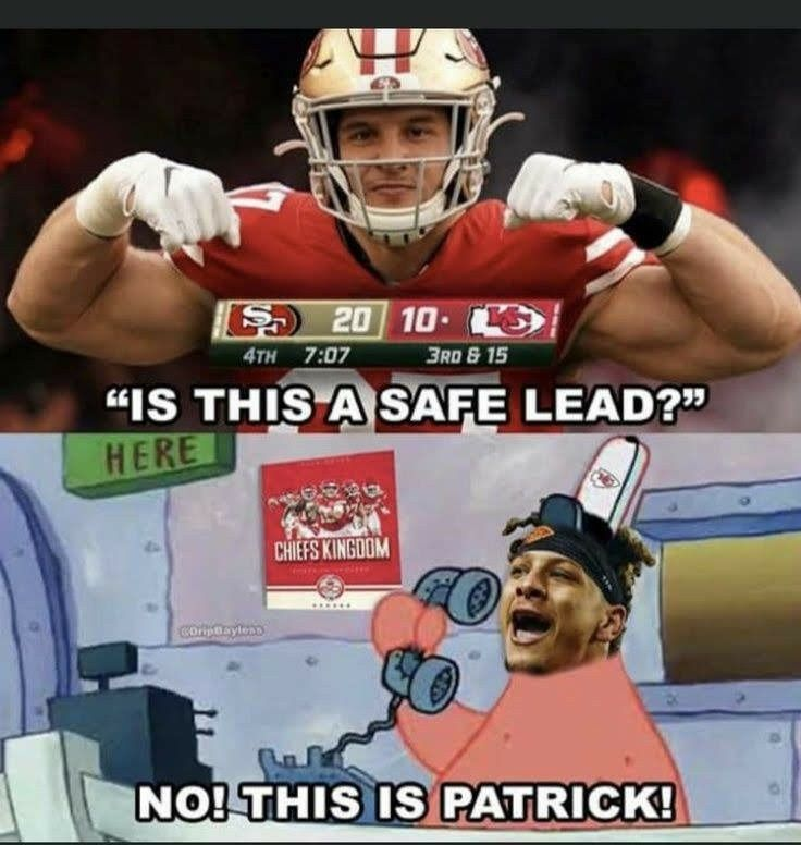 Pin By Abbie Herbster On Kc Chiefs Baby In 2020 Funny Football Memes Nfl Jokes Nfl Memes Funny