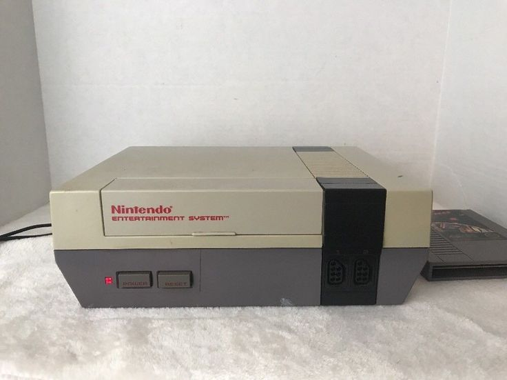 Nintendo NES System Console Power Cord Cable Cord Plus 1 Game Star Voyager    eBay