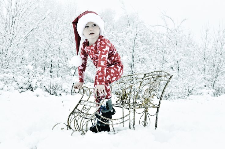 Outdoor Christmas Photography