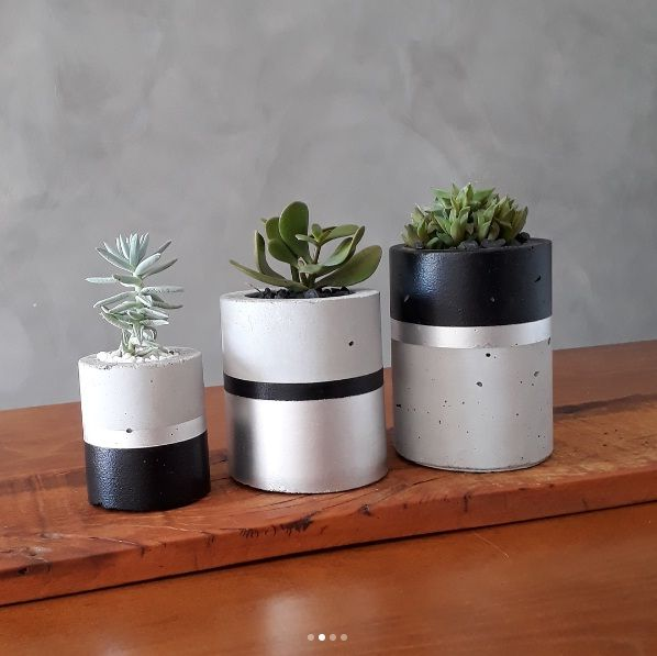Concrete Planters Beton Deko Beton Blumentopfe Maceteros De Cemento Como Hacer Maceteros Macetas