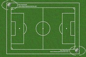 Textures Foot ball sports field texture 18718 | Textures - NATURE ELEMENTS - VEGETATION - Green grass | Sketchuptexture