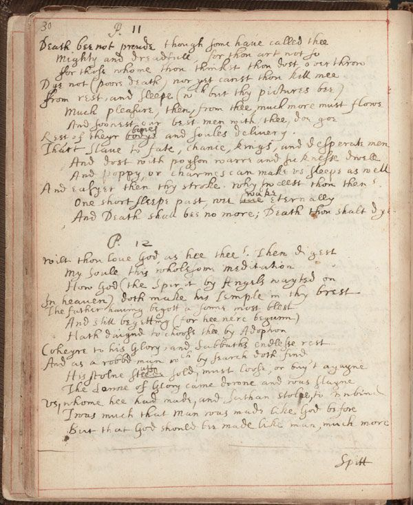 John donne and british literature essay