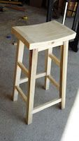 Bar Stool, bar stools,seating,furniture,diy,free woodworking plans,free projects,do it yourself