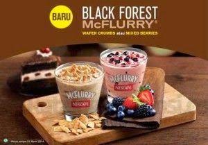 harga menu mcflurry mcdonalds, mcflurry black forest mcdonalds, mcflurry tropical,