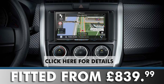 Pioneer AVIC-Z810DAB Double Din Head Unit Audio Stereo Sound ...
