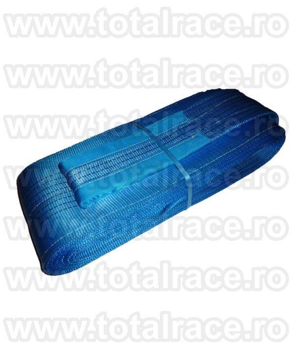 Chinga textila de ridicare cu urechi capacitate WLL 8 tone , diverse lungimi disponibila din stoc - preturi & date tehnice : http://echingi.ro/produse/chingi-ridicare/chingi-ridicare-urechi/mc-240-8-tone