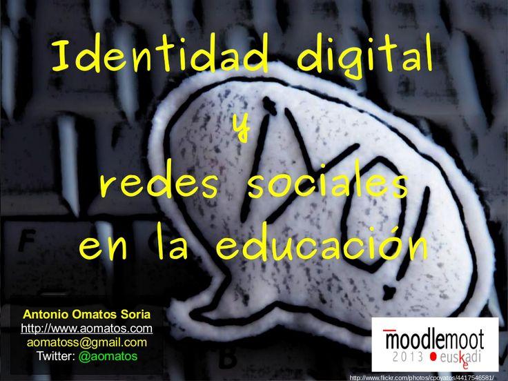 charla identidad digital moot13 f by Antonio Omatos via @Antonio Covelo Covelo Covelo Omatos
