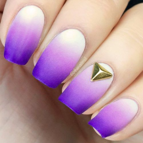 21 VERY WARM PURPLE DESIGNS FOR NAILS   – Nageldesign & Nailart