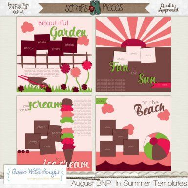 August BNP: In Summer Templates