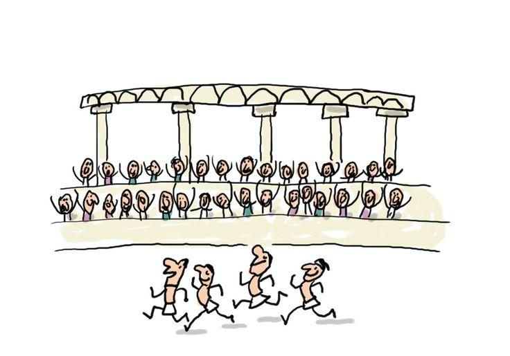 Les 1er jeux olympique remonte à la Grèce Antique , les athelete couraient en l honneur des dieux sur le mont Olympie.Mais Pierre de Coubertin résucite les J.O. Les premier J.O. modernes ouvrent le 6 avril 1896, Coubertin a inventé le drapeau aux anneaux , il dit que l important n est pas de gagner mais de participer . Il pence se serrai mieux que se soit des amateurs qui font les J.O. au lieu que se soit des professionnels (maxime)
