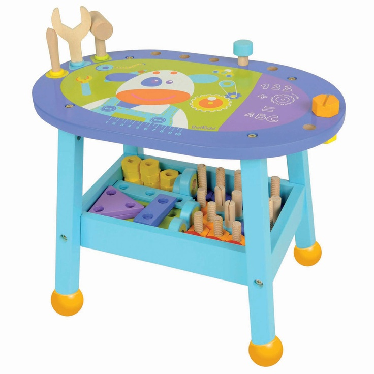 Unique play work bench