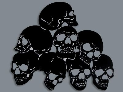Free Skull Stencil Patterns