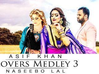 Lovers Medley 3 Song HD Video Asif Khan & Naseebo Lal 2017 | New Pakistani Songs