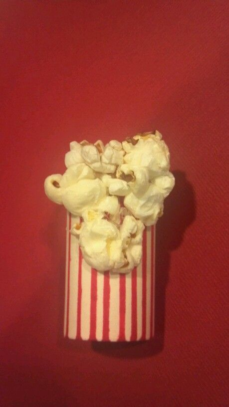 Neckerchief slide for Popcorn sales. The lil guy Lost yet another slide and I needed to emprovise quickly..