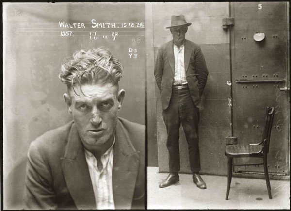 Menswear & Mugshots from the 1920s #3
