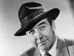 Broderick Crawford enlisted in the US Army Air Corps during WWII. He was assigned to the Armed Forces Network and sent to Britain in 1944 as a Sergeant serving as an announcer for the Glenn Miller American Band.