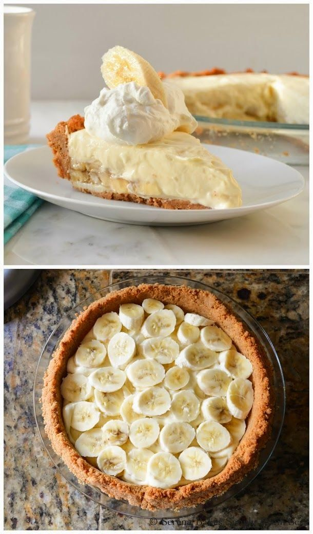 Banana Pudding Cheesecake - This no bake Banana Pudding Cheesecake is easy to make and sure to be a hit with banana cream pie and cheesecake lovers alike.