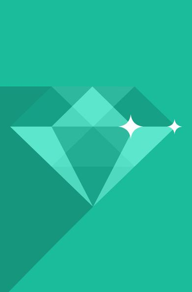 Diamond. reminds me of paganatzu or something...