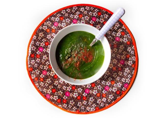 una zuppa di spinaci ? in cucina con Pomeriggi a Central Park