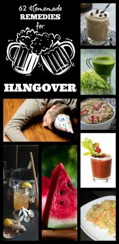 60+ Homemade Remedies for Hangovers EVERY GIRL must know