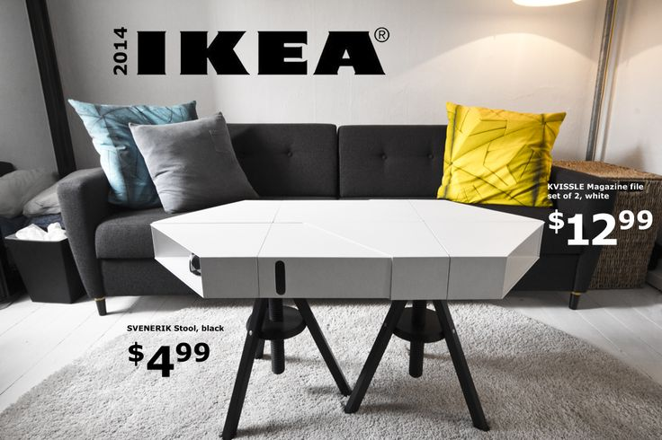 The Kvissle Adjustable Coffee Table Don T You Wish Ikea