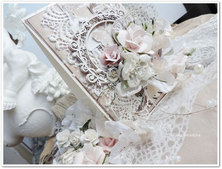 shabby card created by Elena Tretiakova