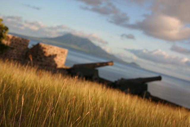 Fort on St. Eustatius by maja.g, via Flickr, #Statia, St. Eustatius