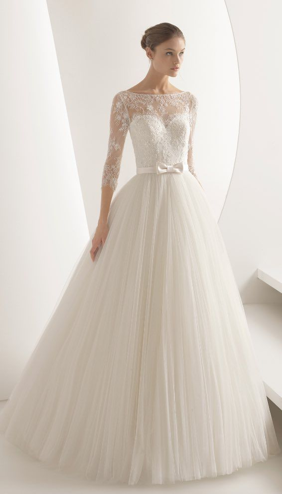 Bridal Gown Inspiration - Pink Clara