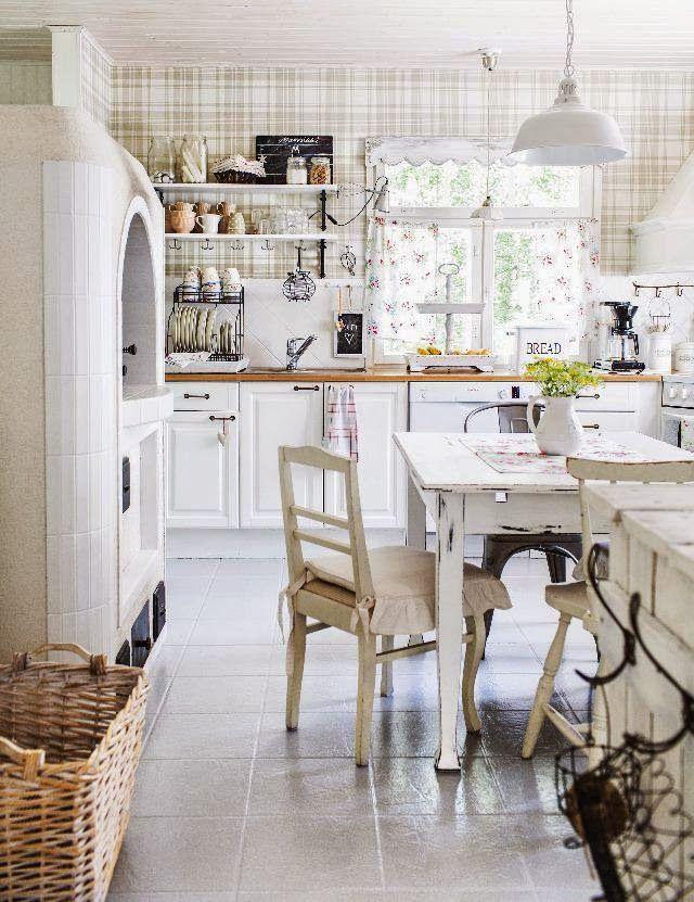 Jurnal de design interior - Amenajări interioare : Bucătărie shabby chic