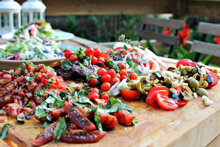 tomater og hallomuni