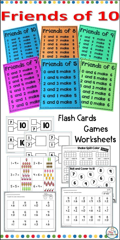 Fiends Of 10 Math Facts Math Fact Fluency Math Facts Math Facts Addition How to teach addition facts to 10