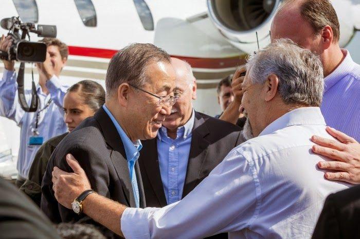 TV Foz em Destaque: Visita Ilustre: Ban Ki-Moon, Secretário-geral da O...