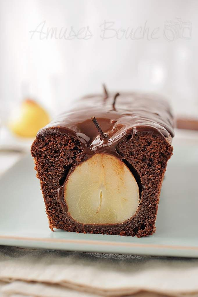 Chocolate Pear Cake Recipe