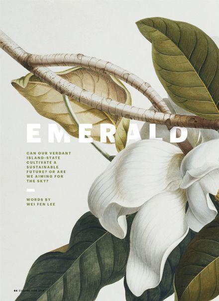 Esquire: Art direction, design, etc. - Rebecca Chew . Graphic Design inspiration . Trends of 2015