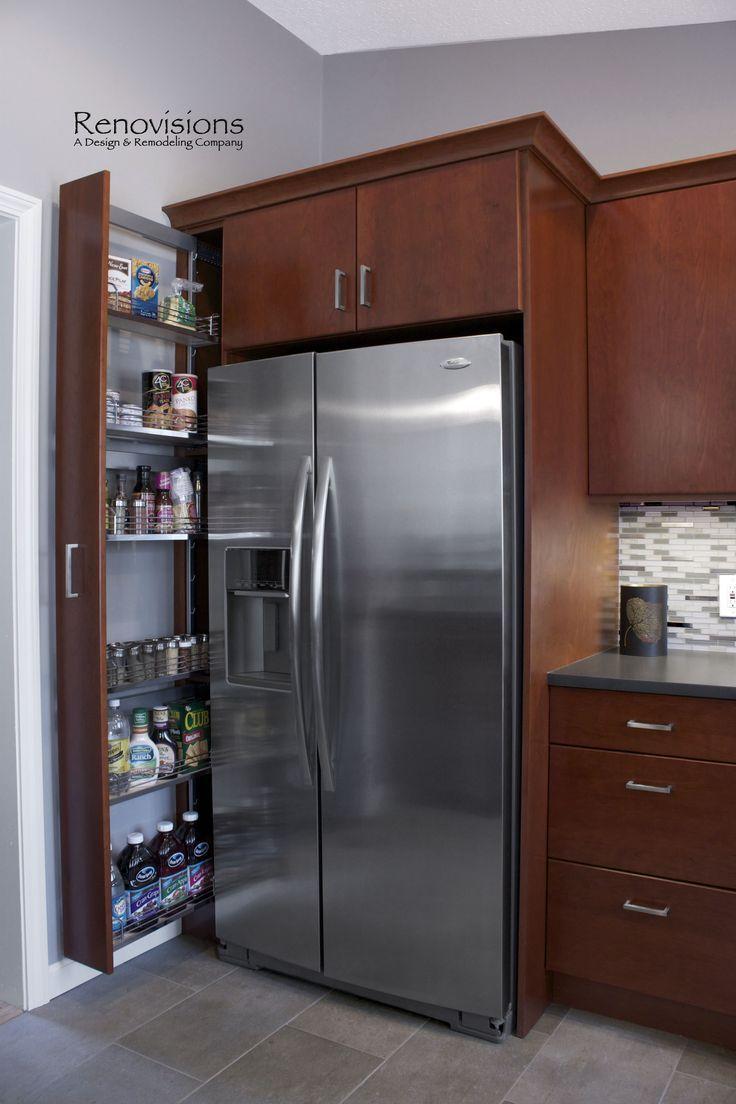 25+ Best Cherry Kitchen Cabinets Ideas on Internet  #colorsforfrontdoors #doorcolorideas #doordecorations Door