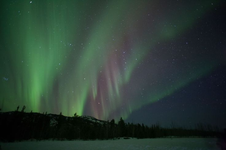 Northern lights Yukon Territory March 2016